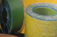 POLINUM - Clear or colored numbered polyester tape